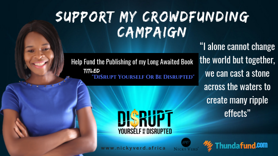 Support Crowdfunding Campaign for my Book. One is too Small a Number to Achieve Greatness.